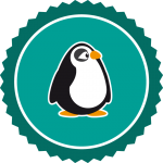 pinguin-badge