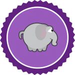 elefant-badge