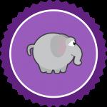 elefant-badge